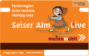 Museummobil Card - Seiser Alm